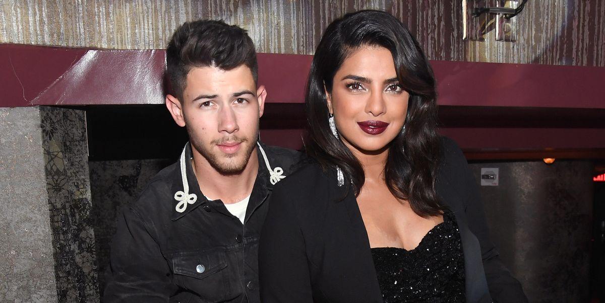 Priyanka Chopra and Nick Jonas in Black for a dazzling Las Vegas Date Night -