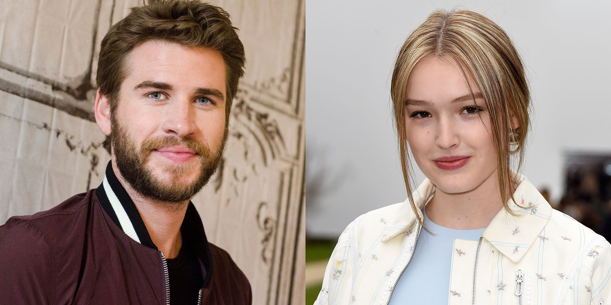 Liam Hemsworth was photographed kissing Maddison Brown and carrying a traffic cone -